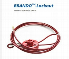 BO-L31 Wheel Type Cable lockout, safety lockout ,Safety locks