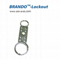 BO-K61Double-end  aluminum HASP lockout