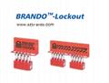 BO-S002 10pcs mini padlock Station