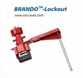 BO-F31 Super Single Arm Universal Ball Valve Lock. Safety locks