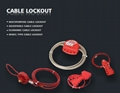 BO-L31 Wheel Type Cable Lockout