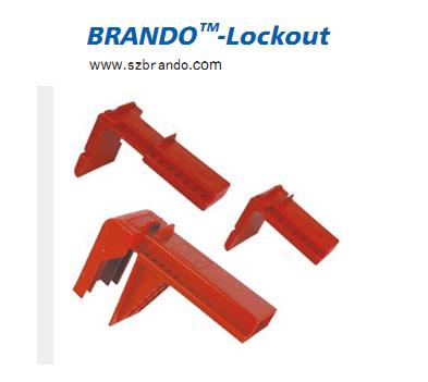 BO-F05/06/07  Adjustable Ball Valve Lockout, Safety lockout