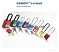 BO-G81 Safety Long Body Padlocks with Steel Shackle