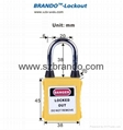 BO-G05 Safety Dust Proof Padlock with Steel Shackle