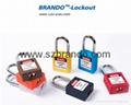 BO-G01 38mm short shackle steel  Padlock , Keyed alike padlocks