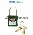 BO-G31 25mm stainless steel shackle Padlock ,master key padlocks