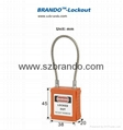 BO-G33 76mm stainless steel shackle Padlock ,master key padlocks