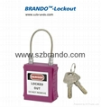 BO-G32 38mm stainless steel shackle Padlock ,master key padlocks