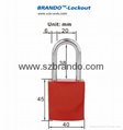 BO-G61/G62 Aluminum Padlock , Safety Lockout