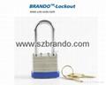 BO-G51 40mm blue short Laminated Padlock