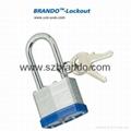BO-G54 50mm blue long shackle Laminated