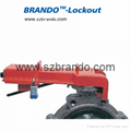 BO-F21 Butterfly Valve Lockout for 8mm to 45mm Valve Rod