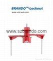 BO-F32 Two Arms Universal Valve Lockout