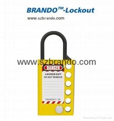 BO-K52 Six Hole Aluminum Lockout Hasp