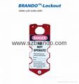 BO-K53 Seven Hole Aluminum Lockout Hasp