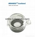 BO-D51/D52 Emergency Stop Lockout Button Safety Cover PC