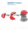 BO-F11A-F15A New Standard Gate Valve Lockout