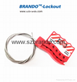 BO-L12 Adjustable Cable Lockout Tagout