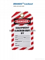 BO-T03 Safety Tagout , Safety labels, Warning Tapes