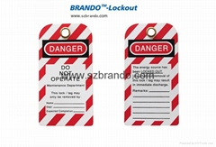 BO-T04 PVC Tag, Safety labels, Warning Tapes