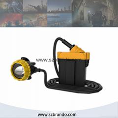 KL12LM  25000lux Mining Caplamp, 3 levels lighting