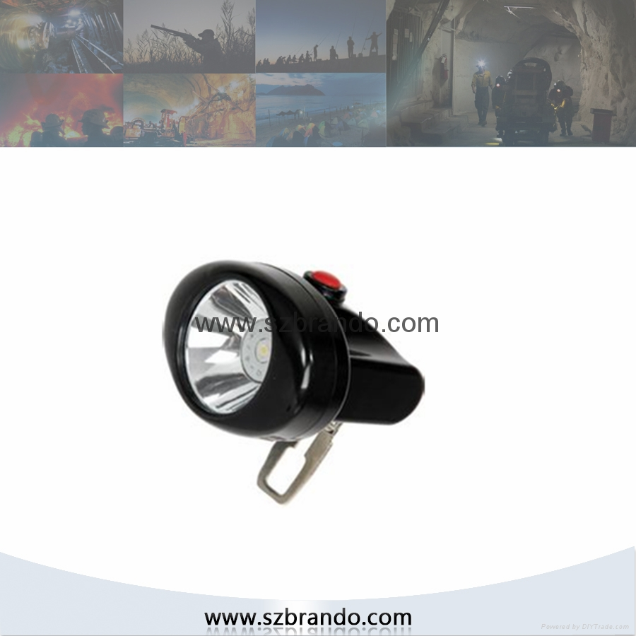 KL2.5LM A Cordless Safety Caplamp with 2.5Ah Li-ion battery 2