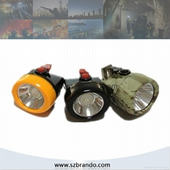 KL2.5LM A Cordless Safety Caplamp with 2.5Ah Li-ion battery