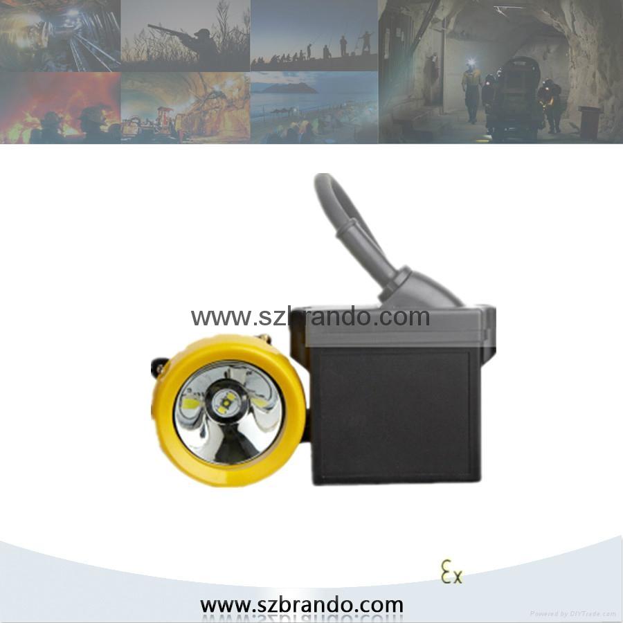 KL8LM  18000lux Mining Caplamp 1