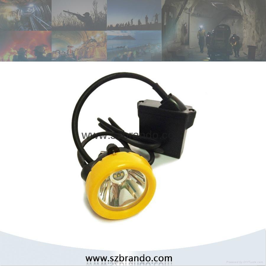 KL8LM  18000lux Mining Caplamp 3