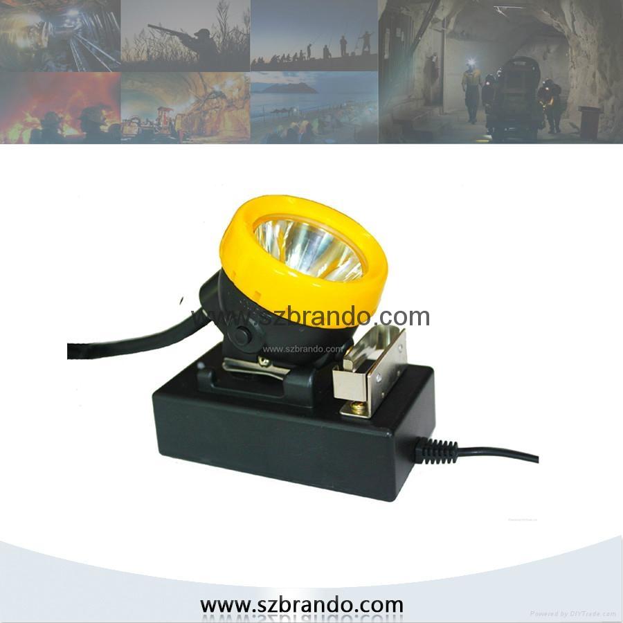 KL8LM  18000lux Mining Caplamp 4