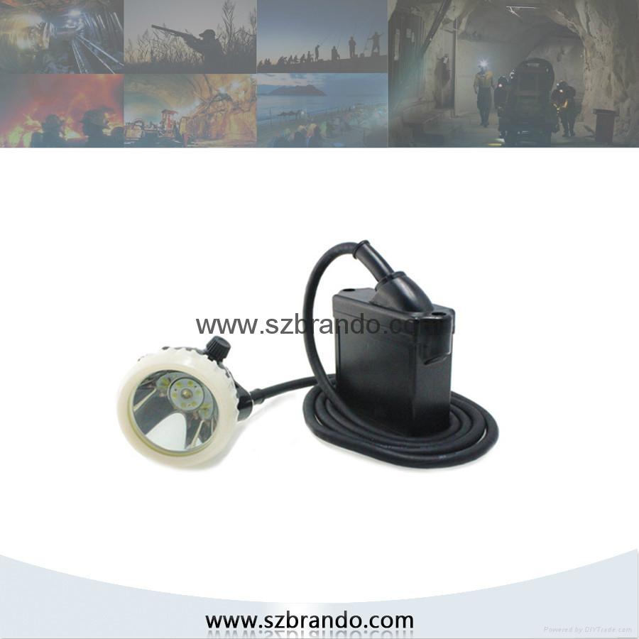 KL5LM-B 10000lux Miner's Caplamp , Mining Caplamp 1