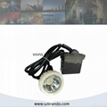 KL5LM-B 10000lux Miner's Caplamp , Mining Caplamp