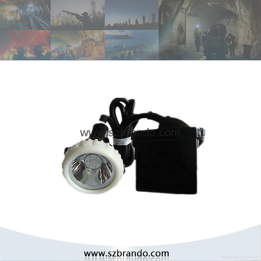 KL5LM-A  4000lux Explosion proof  Miner's Lamp,Coal  Cap lamp 3