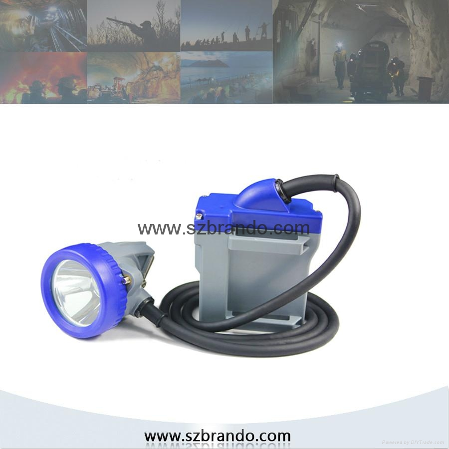 KL7LM B 12000lux Brightness Mining Caplamp. Safety Miner's Lamps 4