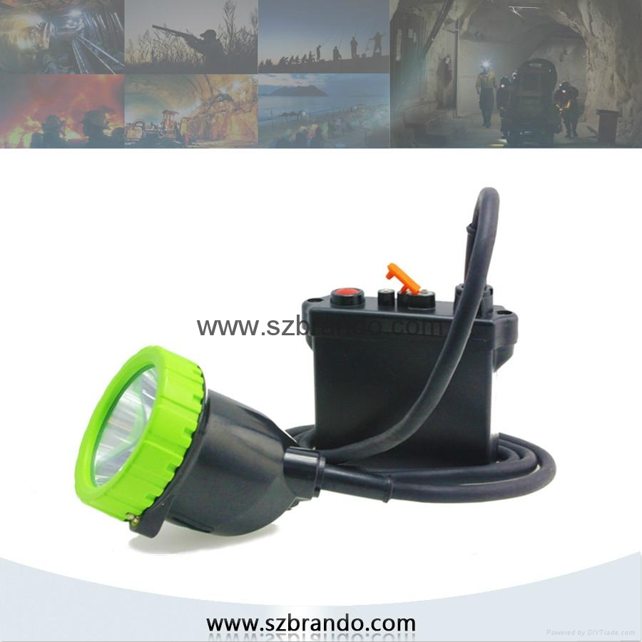 KL11LM A 50000lux Strong brightness safety Hunting lamps ,Opal mining cap lamp