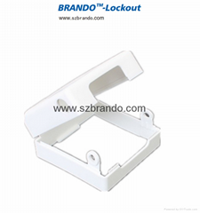 BO-D61 Single  switch cover lockout
