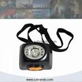 KL4.5LM Digital miner's lamp ,digital cordless mining safety cap lamps 3