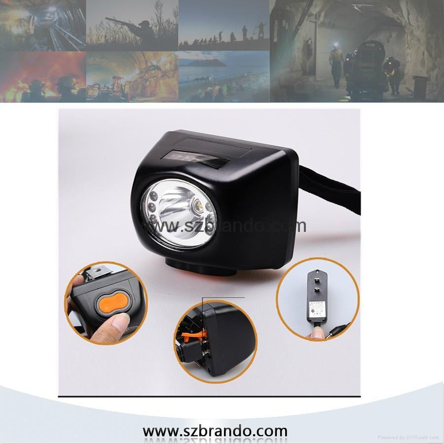 KL4.5LM Digital miner's lamp ,digital cordless mining safety cap lamps 1