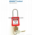 BO-G41 Thin Shackle Xenoy Padlocks