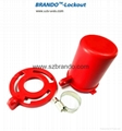 F41,F42,F43,F44,Plug Gate Valve Lockout, safety locks,
