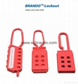 BO-K41 Nylon Lockout HASP, Safety HASP lockout