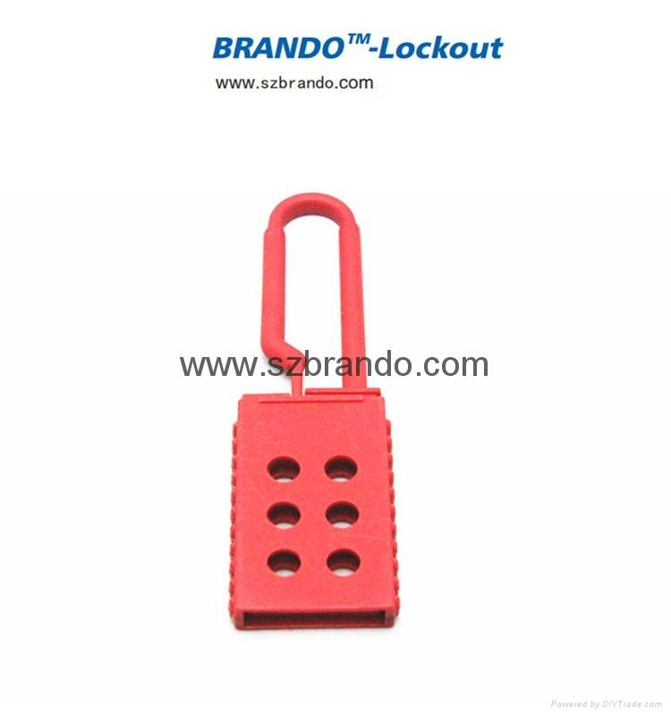 BO-K41 Nylon Lockout HASP, Safety HASP lockout