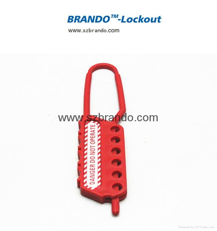 BO-K43 Nylon Lockout HASP, Safety HASP lockout