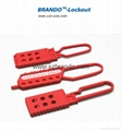 BO-K43 Nylon Lockout HASP, Safety HASP lockout