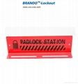 BO-S002 10pcs mini padlock Station  ,mini padlock station