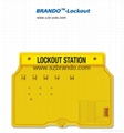 BO-S01,S02,S11,S12 Safety Lock Station , Equipped 5-20pcs locks