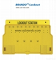 BO-S11,S12 Safety Lock Station , Equipped 5-20pcs locks