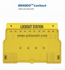 BO-S11,S12 Safety Lock Station , Equipped 5-20pcs locks