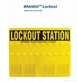 BO-S41/S42 20-LOCK Lockout Center Safety Lock Station for locks