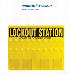 BO-S41/S42 20-LOCK Lockout Center Safety Lock Station for locks